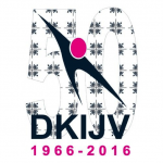 Logo DKIJV 50 jarig jubileum