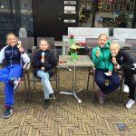 2016 05 Fietspuzzeltocht - ijsje